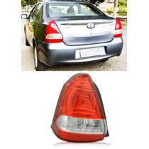 Lanterna Traseira Toyota Etios Sedan 2012 2013 2014 Esquerdo