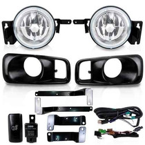 Kit Farol Milha Civic 1999 2000 Completo 99 00 Honda Civic