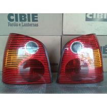 Lanterna Traseira Polo Hatch 2003/2006 Orig Cibie C Soq L D