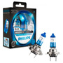 Lâmpada Philips Color Vision Blue Azul H4 55/60w 12v (par)