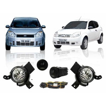 Kit Farol Milha Fiesta 2008 2009 2010 Hatch Sedan, Ford Ka