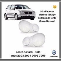 Lente Farol Polo 2003 2004 2005 2006 Direito