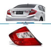 Lanterna Traseira New Civic 2012 2013 Canto Esquerdo