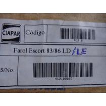 Farol Escort 83/86 - Pç Nova E Original