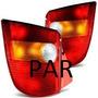 Par Lanterna Traseira Palio 96 97 98 99 2000 Young Tricolor