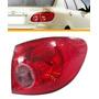Lanterna Traseira Corolla 2003 2004 2005 2006 2007 Seta Rosa
