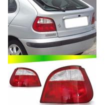 Par Lanterna Traseira Renault Megane 2000 A 2004 Hatch
