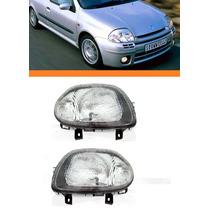 Farol Clio 2000 2001 2002 Foco Simples Par