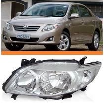Farol Toyota Corolla Xli Xei Ano 2009 2010 2011esquerdo Novo