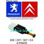 Interruptor Luz Freio Citroen Peugeot 206 207 307 C3 C4