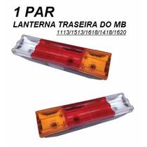 Lanterna Traseira Caminhão Mb 1113/1618/1620 (par)