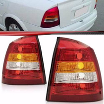 Lanterna Traseira Astra Sedan 98 99 00 01 02 Tricolor Direit