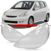 Lente Farol Honda Fit 2008 2007 2006 2005 2004 2003