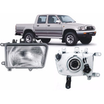 Par De Farol Toyota Hilux 2002 2003 2004 / Sw4 92 93 94 95
