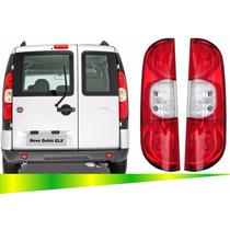 Par Lanterna Traseira Fiat Doblo 2010 2011 2012 2013 2014
