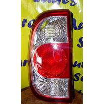 Lanterna Traseira Saveiro G4 06 A 12 Cristal Serve Na G2 G3