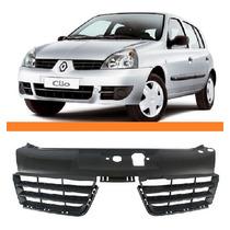 Grade Tela Radiador Renault Clio 06 07 08 09 10 Novo