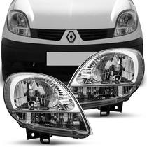 Farol Kangoo 2009 A 2015 Esquerdo Direito Renault