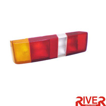 Lanterna Traseira Escort 87 88 89 90 91 92 Tricolor Direita