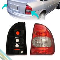 Lanterna Traseira - Corsa Sedan 2000 01 02 03 04 Até 2010