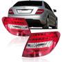 Lanterna C180 C200 C250 2012 2013 2014 Com Led Mercedes