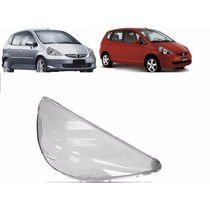 Lente Farol Honda Fit Direito 2003 2004 2005 2006 2007 2008