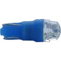 Led Lamp 74 1,2w 12v (super Azul) Esmagadinha (unitario) Atx