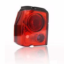 Lanterna Traseira Tipo Tuning Esportiva Red Lado Esquerdo
