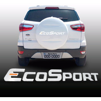 Adesivo Resinado Ecosport 2013/14/15 P/ Capa Do Estepe.