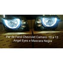 Par De Farol Camaro Mascara Negra E Angem Eyes 10. 11. 12
