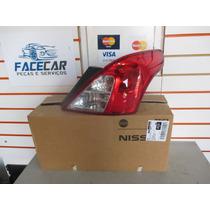Lanterna Traseira Nissan Versa 2011 2012 2013 2014 Direita