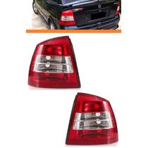 Lanterna Traseira Astra Hatch 98 99 00 01 02bicolor Par