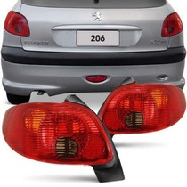Lanterna Traseira Peugeot 206 04 05 06 07 E 08 Serve 98 A 03