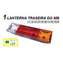 Lanterna Traseira Caminhão Mb 1113 / 1618 / 1620 Reforçada