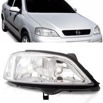 Farol Chevrolet Astra 1998 1999 2000 2001 2002 Cromado Ld