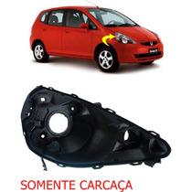 Carcaça Farol Honda Fit Ld Ano 2003 2004 2005 2006 2007 2008