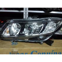 Farol Lado Esquerdo New Civic 2012 2013 2014 Original