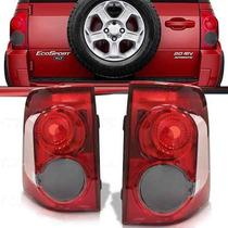 Lanterna Traseira Ecosport 2008 2009 2010 2011 2012 Fumê