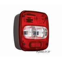 Lanterna Traseira Caminhão Bojuda C/vigia Vw 12 Pl04822207