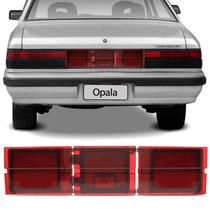 Aplique Lanterna Central Traseira Opala 88/92 Tricolor