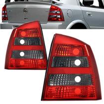 Par Lanterna Traseira Astra Sedan 2004 A 2010 Fume