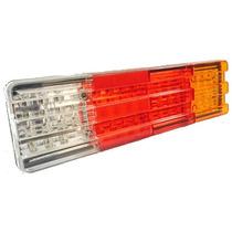 Lanterna Led Traseira Para Caminhão Mod. Mbb 12v - 60 Leds