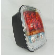 Lanterna Traseira Em Led P/ Jeep Wrangler Tj De 1996 À 2006