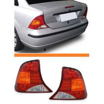 Lanterna Traseira Focus Sedan 2000 2001 2002 2003 04 Par