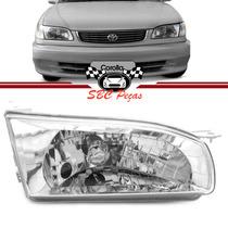 Farol Toyota Corolla 1998 1999 2000 2001 2002 Lado Direito
