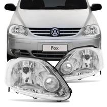 Farol Fox 2003 A 2009 Crossfox Spacefox 2005 A 2009 Cromado