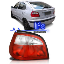 Lanterna Traseira Renault Megane 2000 02 01 03 04 05 Bicolor