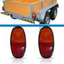 Par Lanterna Adaptação Reboque Caminhão Buggy Bicolor