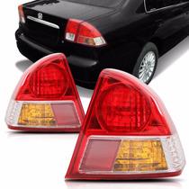 Lanterna Traseira Civic 2003 2004 2005 2006 Canto
