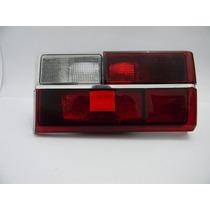 Lanterna Gol Quadrado 86 Rubi Vermelha Ré Branca Friso Crom